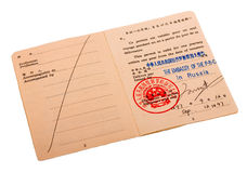 Travel permit Stock Photos