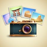 Travel Photo Background Royalty Free Stock Images