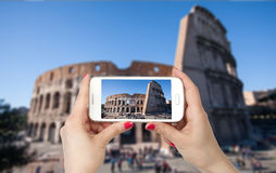 Travel photo of the Colosseum Stock Photos