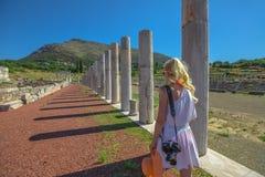 Greek ruins Travel photographer royalty free stock photos