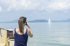 Travel Photographer Royalty Free Stock Photography