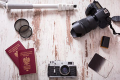 Travel photography background Royalty Free Stock Photos