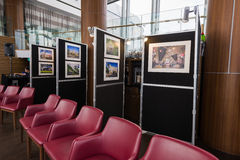 Travel Photography Exhibition Stock Images