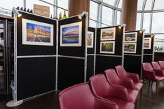 Travel Photography Exhibition Stock Image