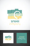 Travel photography icon Stock Photos