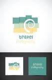 Travel photography icon vector illustration