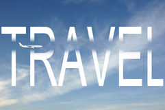 Travel by plane Royalty Free Stock Photos
