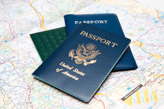Travel planning Royalty Free Stock Photo