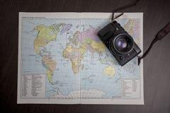 Travel planning Royalty Free Stock Photos