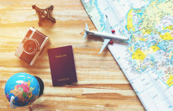 Travel planning concept Stock Photography