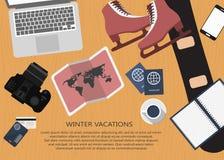 Travel planning Stock Image