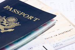 Travel plans Stock Image
