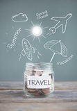 Travel plans Stock Photography