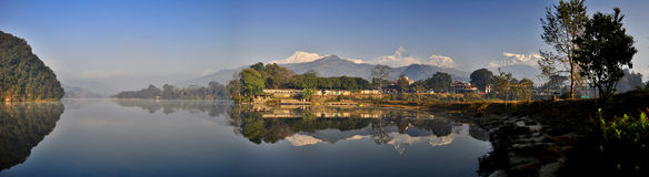 Travel in pokhara Royalty Free Stock Photography