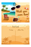 Travel postcard Royalty Free Stock Images