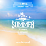 Travel poster Royalty Free Stock Images
