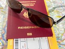 Travel preparation Stock Photo