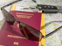 Travel preparation Stock Images