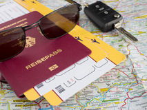 Travel preparation Stock Photos