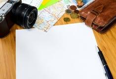 Travel preparations Royalty Free Stock Image