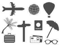 Travel related items Royalty Free Stock Photography