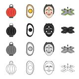 Travel, rest, tourism and other web icon in cartoon style.Way, separating, signs, icons in set collection. Royalty Free Stock Images