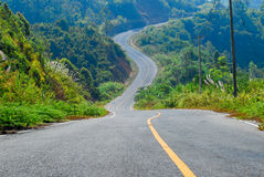 Travel road Royalty Free Stock Photography