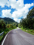 Travel road to nature Royalty Free Stock Photo