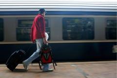 Travel rush Stock Photo