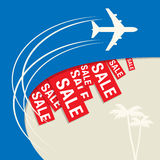 Travel Sale abstract design Stock Photos