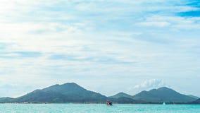 Travel in sea Stock Photo
