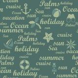 Travel seamless pattern stock photo
