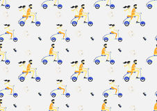 Travel seamless pattern. Travel style Royalty Free Stock Photo