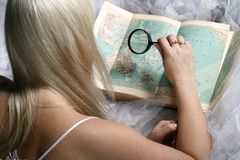 Travel search Royalty Free Stock Photos
