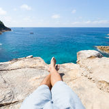 Travel seaside holiday. Royalty Free Stock Photography