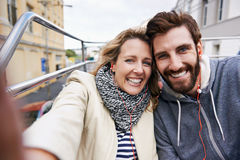 Travel selfie Royalty Free Stock Image