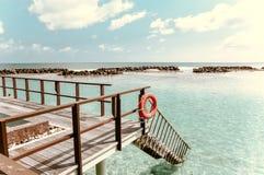 Beautiful landscape on Maldive islands. Travel series. Beautiful landscape on Maldive islands Royalty Free Stock Photo