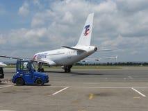 Travel Service Aerobus A320 Zdjęcie Stock