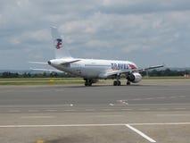 Travel Service Aerobus A320 zdjęcie royalty free