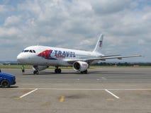 Travel Service Aerobus A320 Fotografia Royalty Free