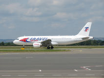 Travel Service Airbus A320 Stockbild