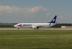 Travel Service Boeing 737-900 Obrazy Royalty Free
