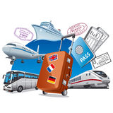 Travel service concept Stock Photo