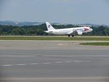 Travel Service flygbuss A320 Royaltyfria Bilder