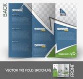 Travel Service Tri-Fold Brochure Royalty Free Stock Photos