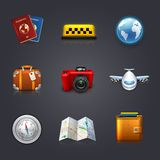Travel set Stock Photo