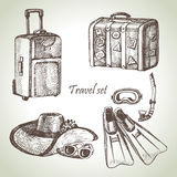Travel set Royalty Free Stock Photo