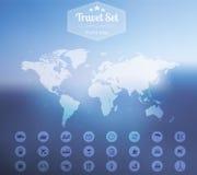 Travel set Stock Image