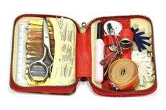 Travel sewing kit Stock Image