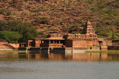 Travel shot of Badami water temple Stock Image